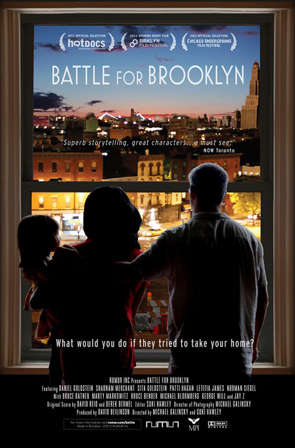 """""""Battle for Brooklyn"""" playing this weekend. Meetup?"""