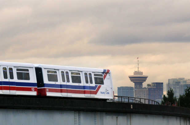 Vancouver's driverless Skytrain
