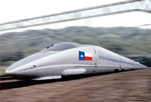 Six Shooters and Bullet Trains: High Speed Rail in Texas