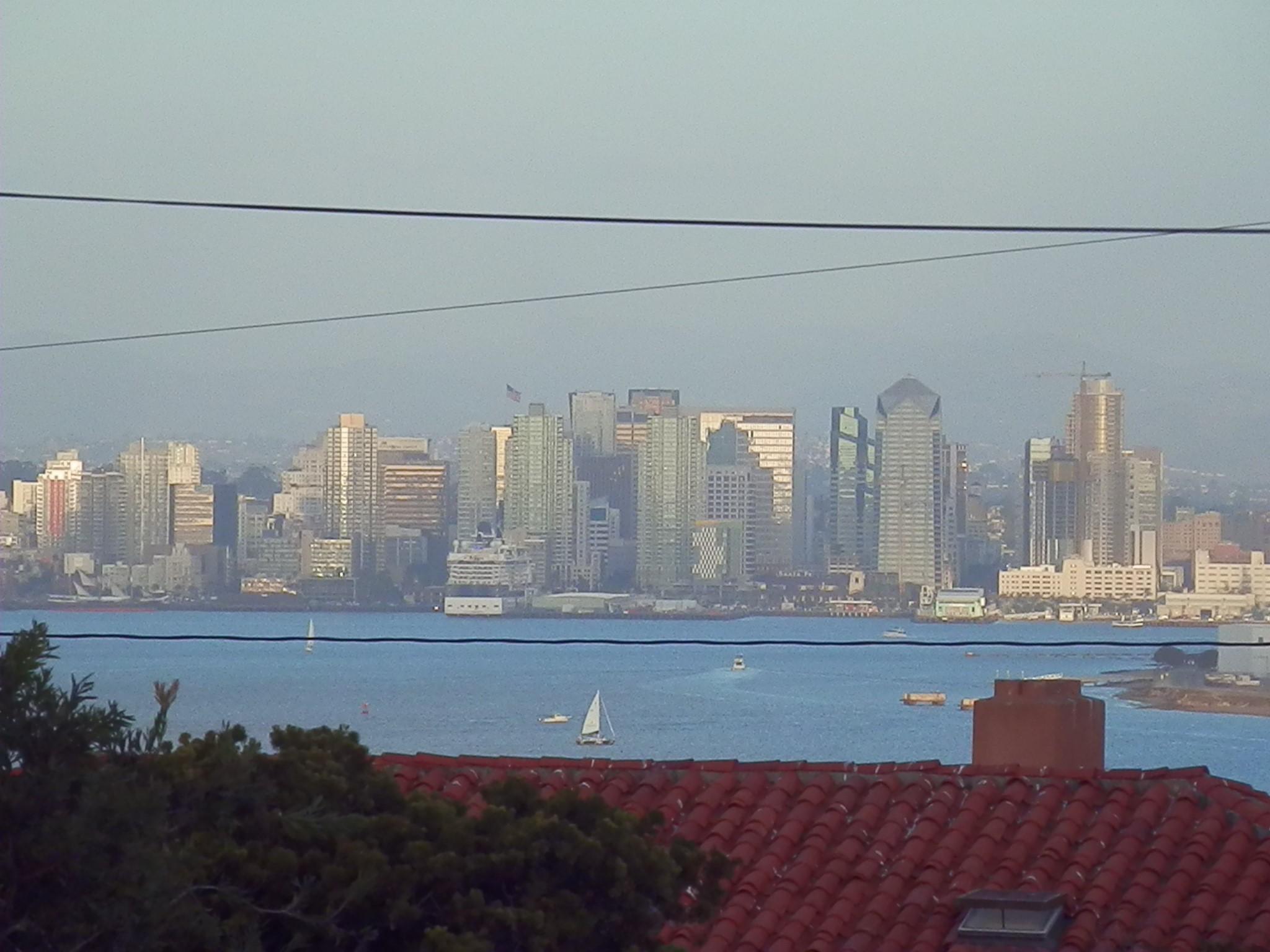 (A shot of the San Diego skyline from the La Playa neighborhood / Scott Beyer)